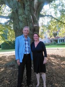 Hans Kröder (ISO 26000 specialist) en Claudia Koole