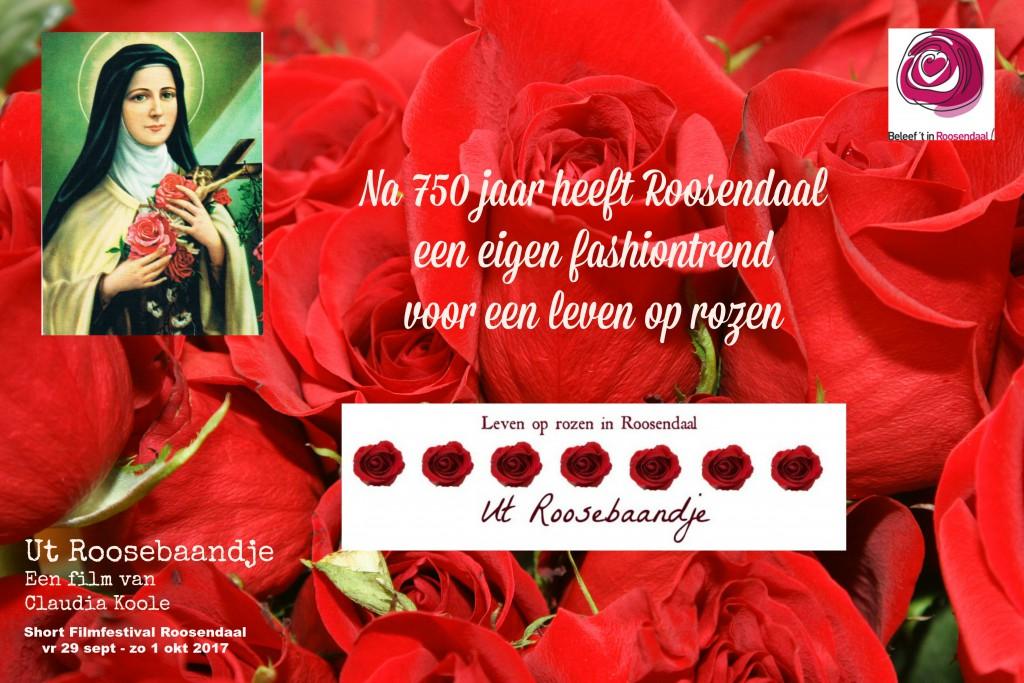 Poster korte film Ut Roosebaandje