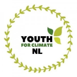 Logo Youth for Climate NL