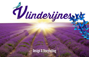 Logo Vlinderijnes - Lavendel veld