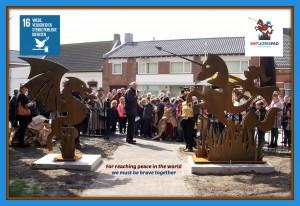 Vormgeving voor Cultuurproject Sint Jorispad Kruisland