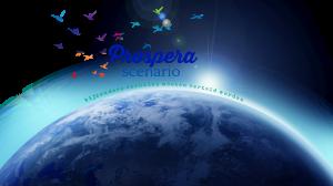 Logo Prospera Scenario met aardbol 10-2018