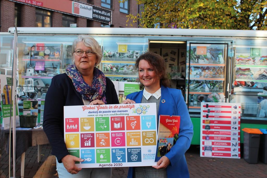 Uitreiking Global Goals in de praktijk 10-10-2018 Roosendaal en Steenbergen (7)