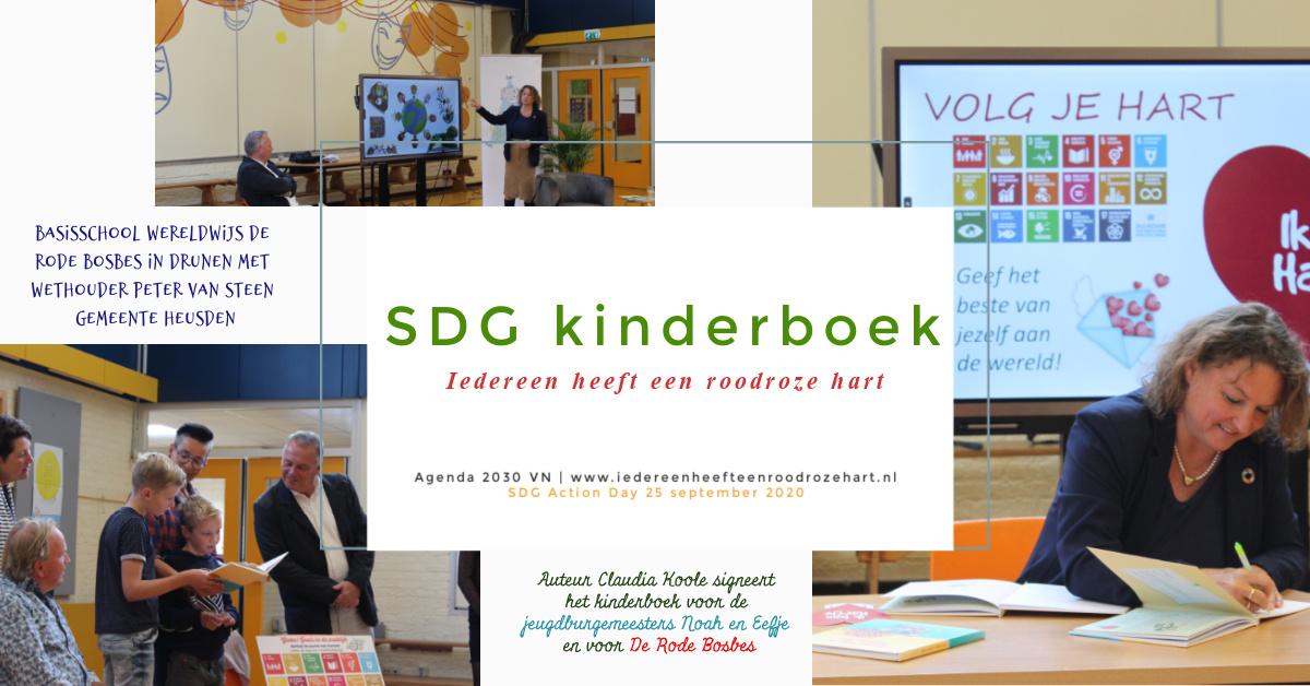 Collage foto - SDG Action Day 2020 gemeente Heusden 25-09-2020