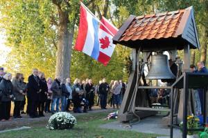 Nieuwsfoto - Herdenking Canadezenweg Welberg