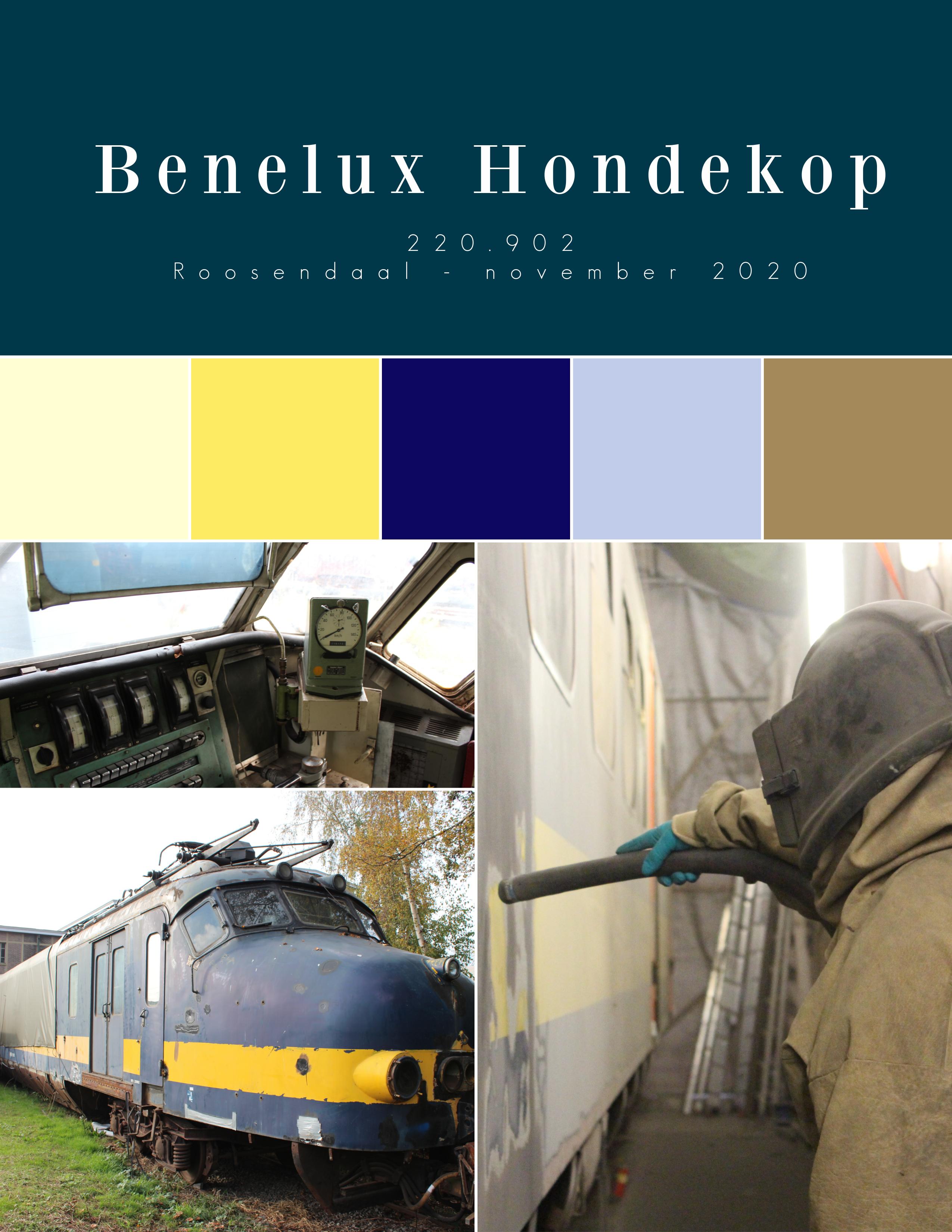 PR fotoserie Benelux Hondekop 220.902 11-2020 Roosendaal
